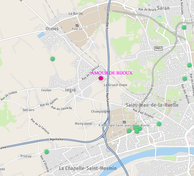 map amour de bijoux
