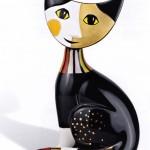 rosina wachtmeister, amour de bijoux, ingré, 45, arts de la table, chats, verres, décoration, mug, flute champagne